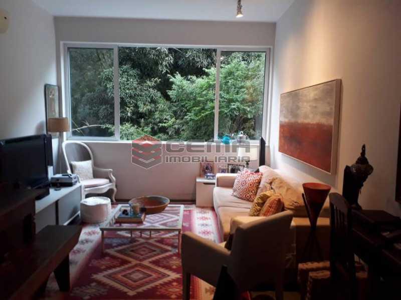 sala - Apartamento 2 quartos à venda Cosme Velho, Zona Sul RJ - R$ 930.000 - LAAP25201 - 4