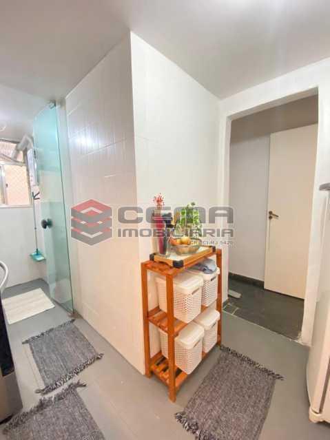 area - Excelente Apartamento 2 quartos em Rua Bucólica de Laranjeiras ! - LAAP25213 - 14