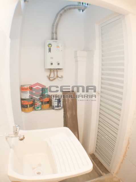 Área de serviço - Apartamento 1 quarto para alugar Laranjeiras, Zona Sul RJ - R$ 1.700 - LAAP12920 - 13