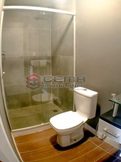 Banheiro - Apartamento 1 quarto para alugar Laranjeiras, Zona Sul RJ - R$ 1.700 - LAAP12920 - 12