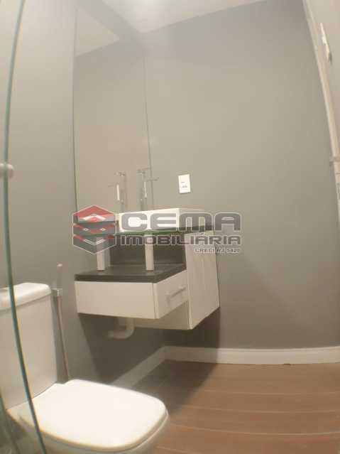 Banheiro - Apartamento 1 quarto para alugar Laranjeiras, Zona Sul RJ - R$ 1.700 - LAAP12920 - 11