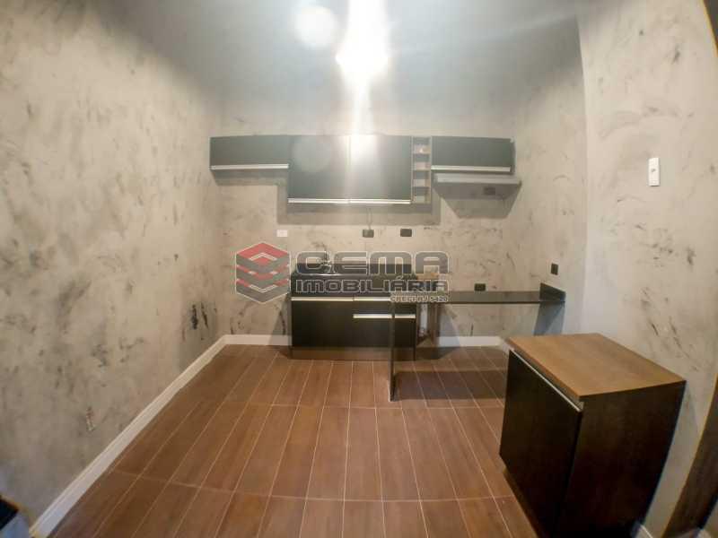 Sala com cozinha americana - Apartamento 1 quarto para alugar Laranjeiras, Zona Sul RJ - R$ 1.700 - LAAP12920 - 6