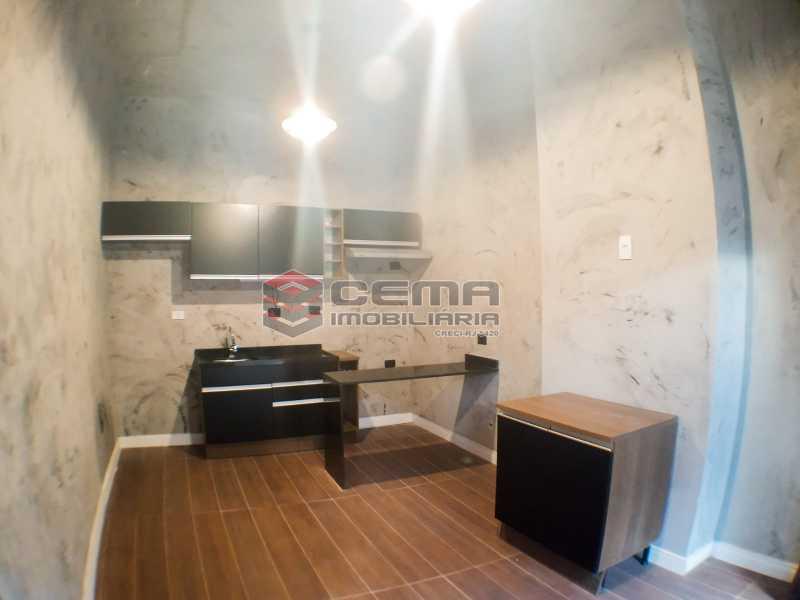 Sala com cozinha americana - Apartamento 1 quarto para alugar Laranjeiras, Zona Sul RJ - R$ 1.700 - LAAP12920 - 7