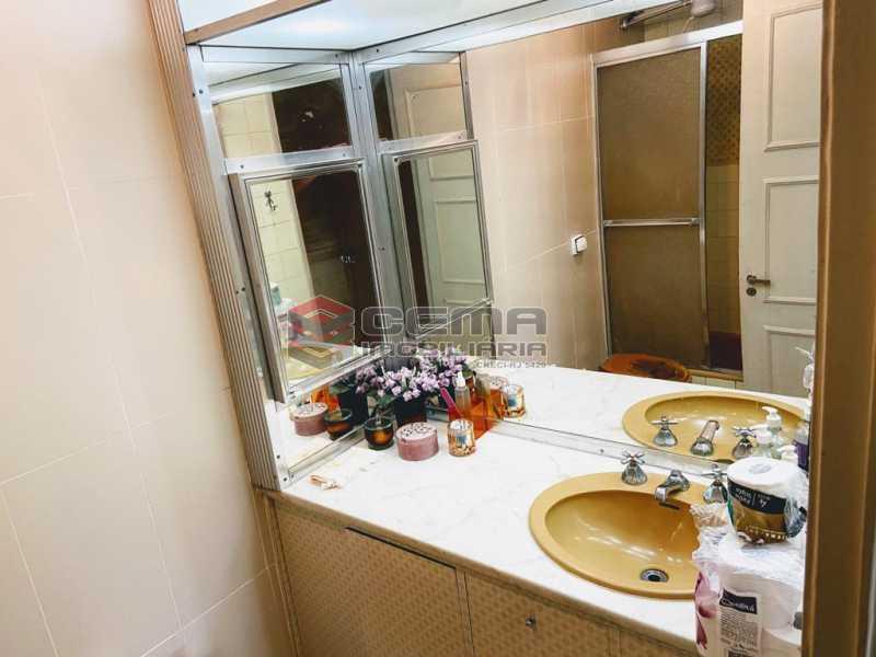 banheiro suite - Excelente Apartamento 2 quartos com suite e vaga no Leblon - LAAP25224 - 6