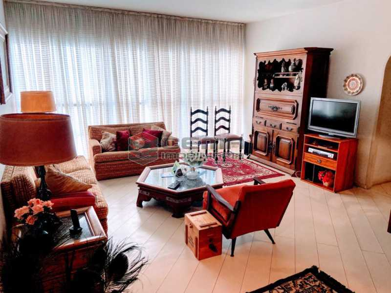 sala - Excelente Apartamento 2 quartos com suite e vaga no Leblon - LAAP25224 - 1