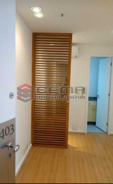 sala - Excelente Sala Comercial no Edificio Florence Tower - Leblon - LASL00433 - 3