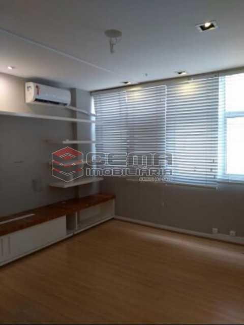 sala - Excelente Sala Comercial no Edificio Florence Tower - Leblon - LASL00433 - 1