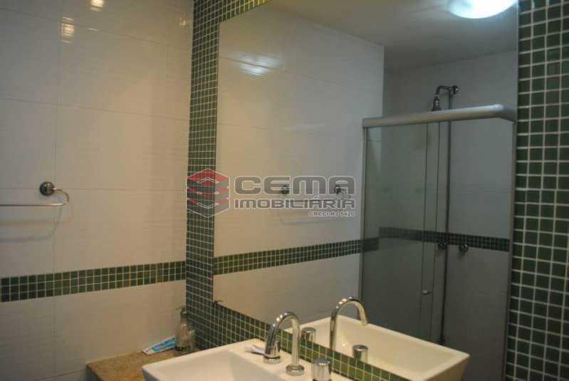banheiro social 1 - Excelente Apartamento 3 quartos MOBILIADO com vaga em Copacabana - LAAP34459 - 10