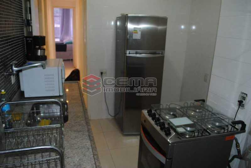 cozinha - Excelente Apartamento 3 quartos MOBILIADO com vaga em Copacabana - LAAP34459 - 12