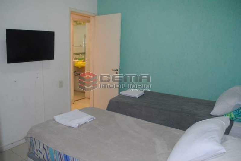 quarto 2 - Excelente Apartamento 3 quartos MOBILIADO com vaga em Copacabana - LAAP34459 - 7