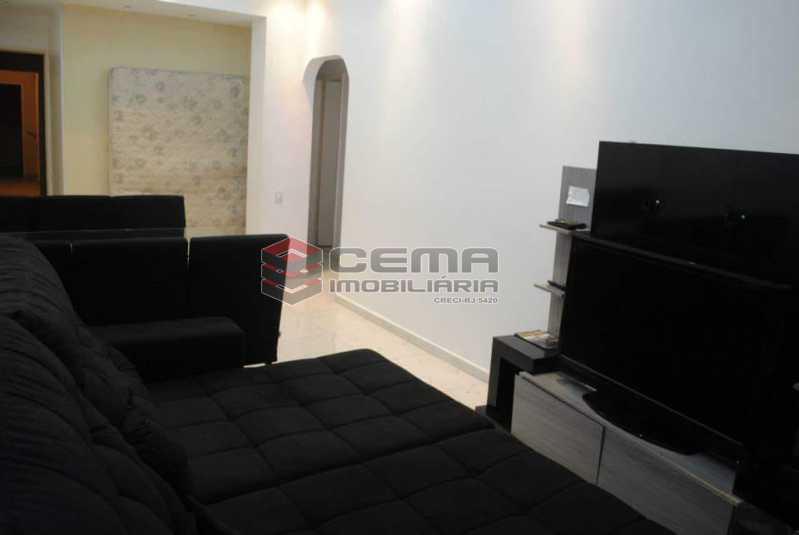 sala - Excelente Apartamento 3 quartos MOBILIADO com vaga em Copacabana - LAAP34459 - 4