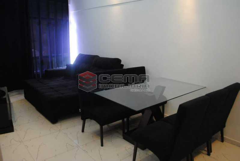 sala - Excelente Apartamento 3 quartos MOBILIADO com vaga em Copacabana - LAAP34459 - 3