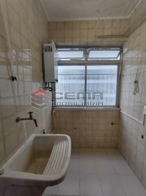 area - Excepcional Apartamento 2 quartos com suíte e vaga em Laranjeiras - LAAP25232 - 26