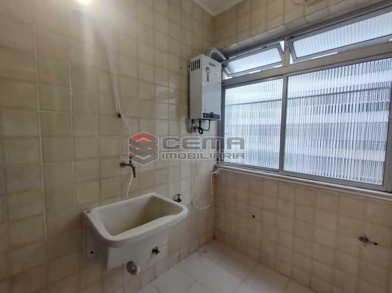 area - Excepcional Apartamento 2 quartos com suíte e vaga em Laranjeiras - LAAP25232 - 27