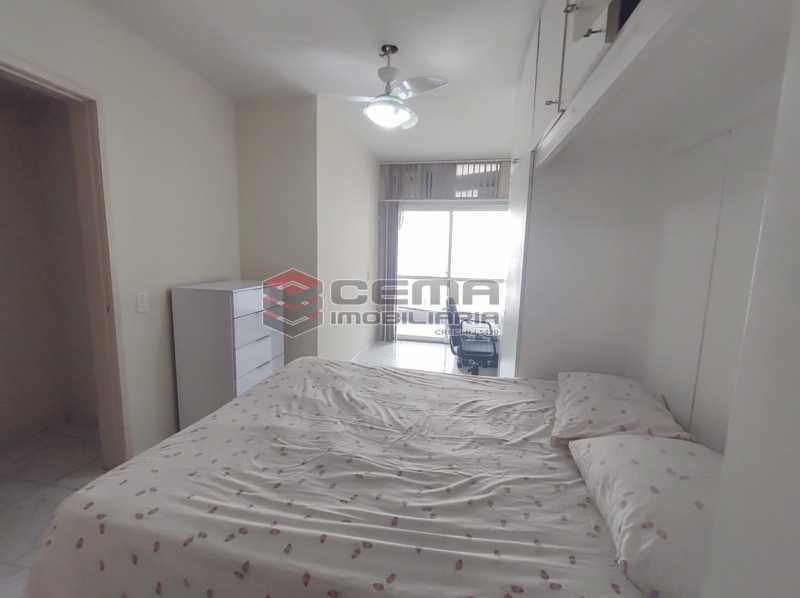 quarto - Flat Residencial com serviços e vaga MOBILIADO - LAFL10079 - 9