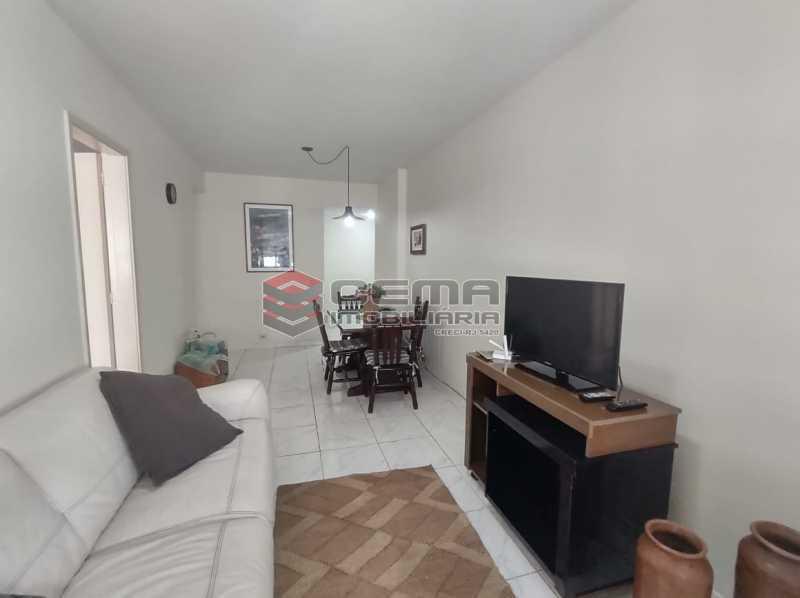 sala - Flat Residencial com serviços e vaga MOBILIADO - LAFL10079 - 1