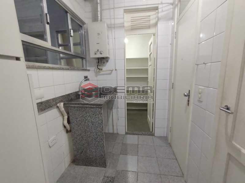 area de servço - Excelente Apartamento 3 quartos com suite e vaga em Ipanema - LAAP34470 - 27
