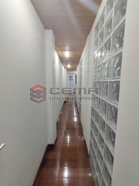 corredor - Excelente Apartamento 3 quartos com suite e vaga em Ipanema - LAAP34470 - 13