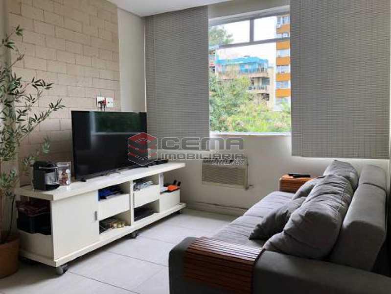 25cc9eda4c8022c882710f0dce5bd5 - Apartamento 1 quarto à venda Humaitá, Zona Sul RJ - R$ 680.000 - LAAP12934 - 1