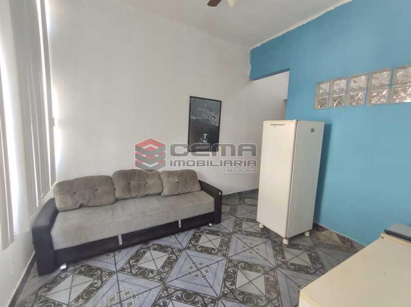 sala - Excelente Apartamento Quarto e Sala MOBILIADO na Glória - LAAP13000 - 6