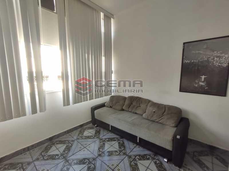 sala - Excelente Apartamento Quarto e Sala MOBILIADO na Glória - LAAP13000 - 5