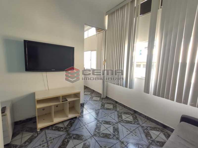 sala - Excelente Apartamento Quarto e Sala MOBILIADO na Glória - LAAP13000 - 1