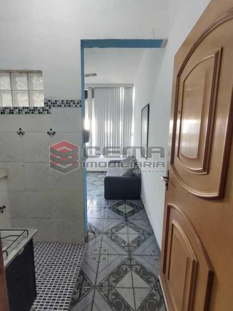 sala - Excelente Apartamento Quarto e Sala MOBILIADO na Glória - LAAP13000 - 3