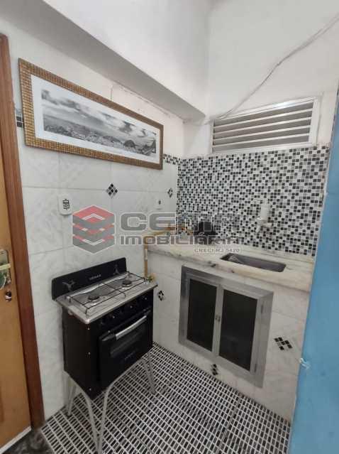 cozinha - Excelente Apartamento Quarto e Sala MOBILIADO na Glória - LAAP13000 - 15