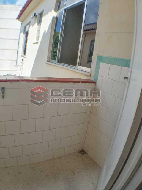 Área de serviço - Apartamento 1 quarto para alugar Rio Comprido, Rio de Janeiro - R$ 1.200 - LAAP12978 - 16