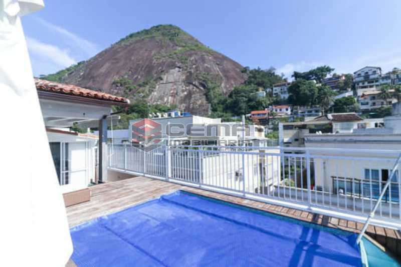 piscina - Cobertura 3 quartos à venda Laranjeiras, Zona Sul RJ - R$ 2.100.000 - LACO30312 - 3