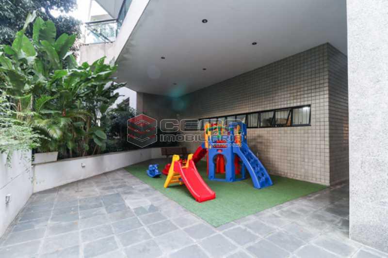 Área de recreação infantil - Apartamento 3 quartos para alugar Laranjeiras, Zona Sul RJ - R$ 4.600 - LAAP34546 - 28