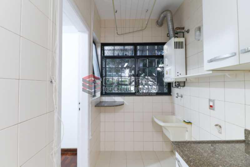 Área de Serviço - Apartamento 3 quartos para alugar Laranjeiras, Zona Sul RJ - R$ 4.600 - LAAP34546 - 24