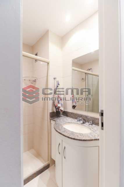 Banheiro Social - Apartamento 3 quartos para alugar Laranjeiras, Zona Sul RJ - R$ 4.600 - LAAP34546 - 11
