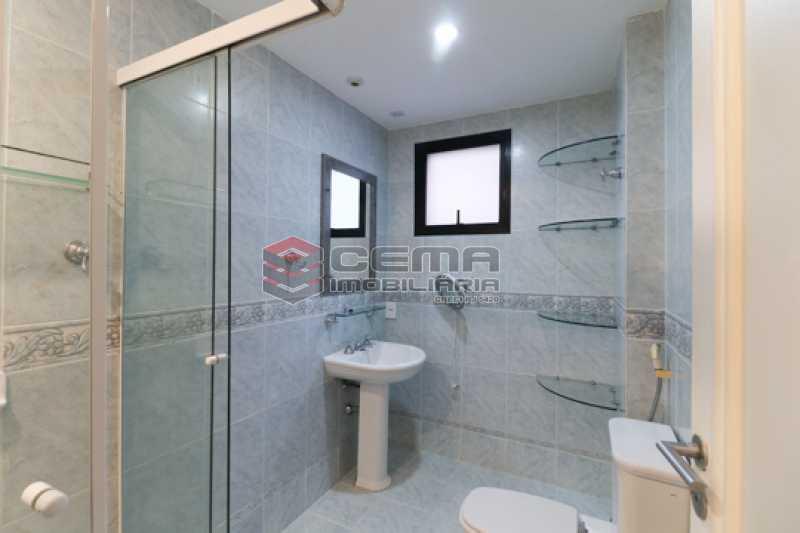 Banheiro Suíte  - Apartamento 3 quartos para alugar Laranjeiras, Zona Sul RJ - R$ 4.600 - LAAP34546 - 17