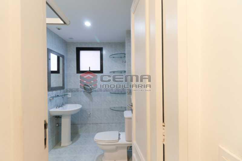 Banheiro Suíte - Apartamento 3 quartos para alugar Laranjeiras, Zona Sul RJ - R$ 4.600 - LAAP34546 - 18