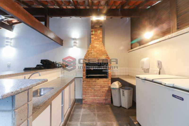 Churrasqueira - Apartamento 3 quartos para alugar Laranjeiras, Zona Sul RJ - R$ 4.600 - LAAP34546 - 26