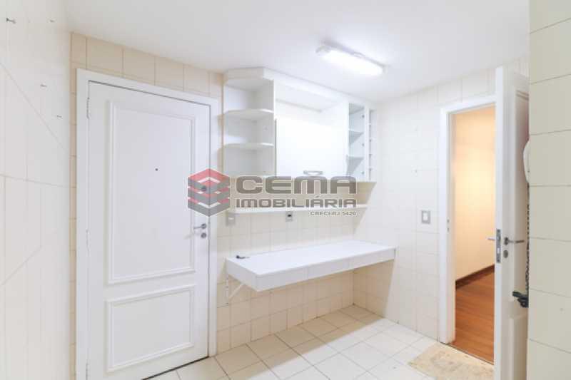 Cozinha  - Apartamento 3 quartos para alugar Laranjeiras, Zona Sul RJ - R$ 4.600 - LAAP34546 - 22