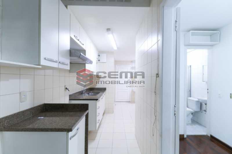 Cozinha  - Apartamento 3 quartos para alugar Laranjeiras, Zona Sul RJ - R$ 4.600 - LAAP34546 - 23