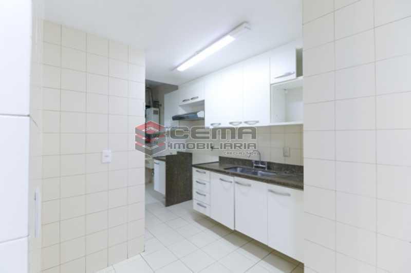 Cozinha - Apartamento 3 quartos para alugar Laranjeiras, Zona Sul RJ - R$ 4.600 - LAAP34546 - 21