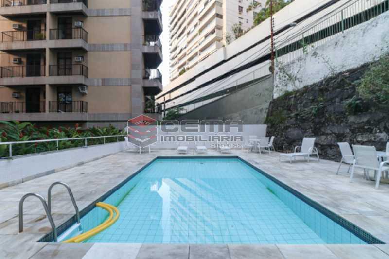 Piscina - Apartamento 3 quartos para alugar Laranjeiras, Zona Sul RJ - R$ 4.600 - LAAP34546 - 27