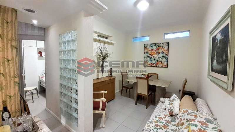 Sala - Apartamento para alugar Rua Santo Amaro,Glória, Zona Sul RJ - R$ 1.300 - LAAP12992 - 1