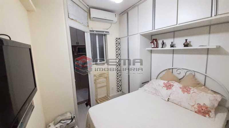 Quarto - Apartamento para alugar Rua Santo Amaro,Glória, Zona Sul RJ - R$ 1.300 - LAAP12992 - 6