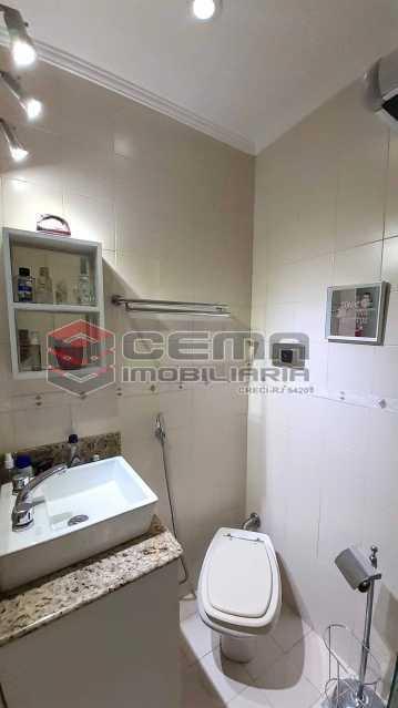 Banheiro - Apartamento para alugar Rua Santo Amaro,Glória, Zona Sul RJ - R$ 1.300 - LAAP12992 - 9