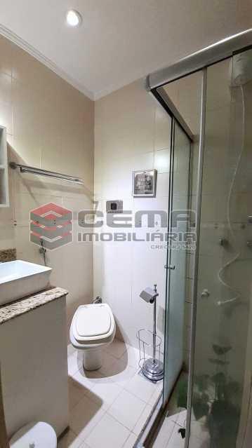 Banheiro - Apartamento para alugar Rua Santo Amaro,Glória, Zona Sul RJ - R$ 1.300 - LAAP12992 - 10