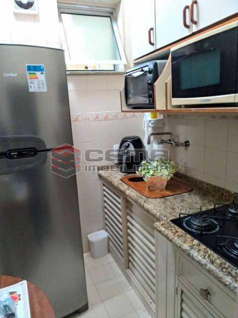 Cozinha - Apartamento para alugar Rua Santo Amaro,Glória, Zona Sul RJ - R$ 1.300 - LAAP12992 - 7