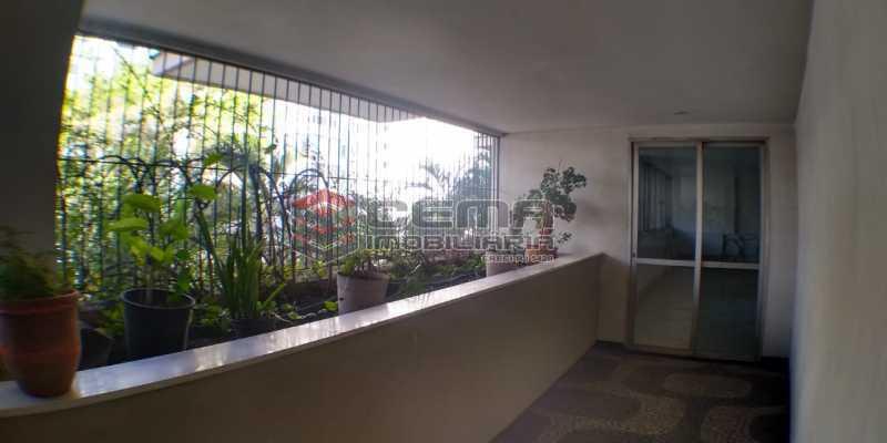 Área comum - Apartamento 1 quarto para alugar Laranjeiras, Zona Sul RJ - R$ 1.500 - LAAP12998 - 18