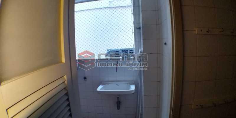 Área de serviço - Apartamento 1 quarto para alugar Laranjeiras, Zona Sul RJ - R$ 1.500 - LAAP12998 - 13