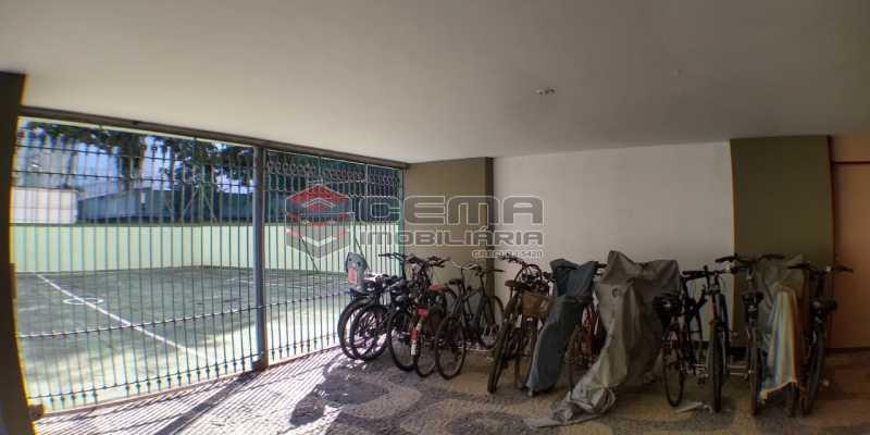 Bicicletário - Apartamento 1 quarto para alugar Laranjeiras, Zona Sul RJ - R$ 1.500 - LAAP12998 - 19