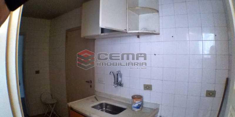 Cozinha - Apartamento 1 quarto para alugar Laranjeiras, Zona Sul RJ - R$ 1.500 - LAAP12998 - 12