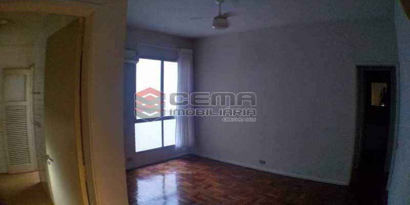 Sala  - Apartamento 1 quarto para alugar Laranjeiras, Zona Sul RJ - R$ 1.500 - LAAP12998 - 1